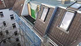 Dachgeschossausbau in 10439 Berlin von ABD Bedachungen - Ihr Ansprechpartner rund ums Dach in Berlin und Brandenburg